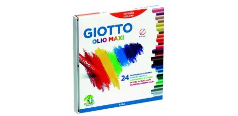 Giotto  Jumbo Olio Oil Pastel 24 Col