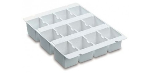 Gratnells Tray Insert (with 3 x 4 sections)