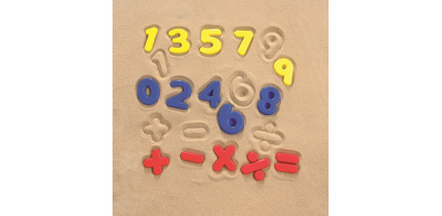 Sand Mould Set-Maths