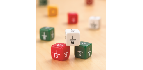 Fraction Dice-Set Of 6