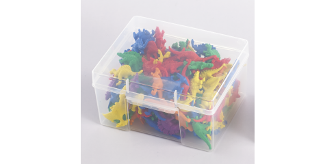 Dinosaur Counters-128pcs In A Container