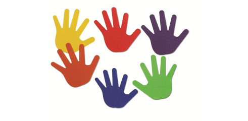 Hand Marks (6 Colors)