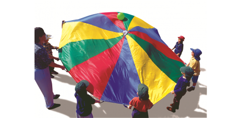 Parachute 1.8m Diam-8 Handles