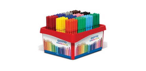 Giotto Turbo Color Schoolpack 144pcs
