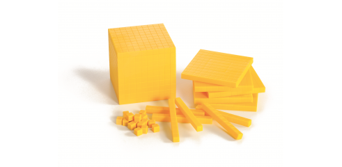 Base Ten-Yellow(121pcs)