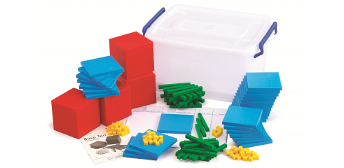 Base Ten Classroom Set(4colours)