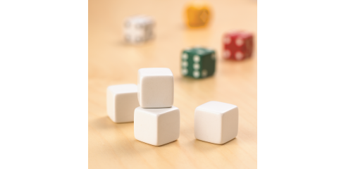 Blank Dice-Set Of 12