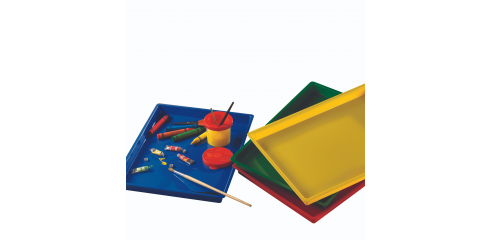 Colored Paint Trays