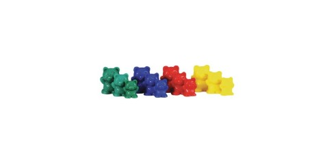 Bear Counters-Pack Of 96,4 Colours