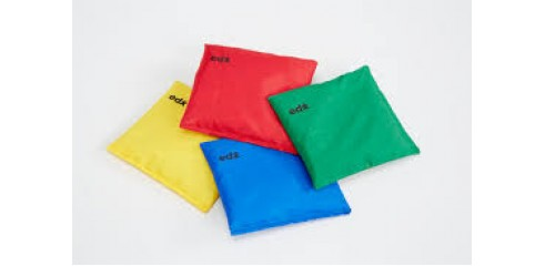 Bean Bags Large(16x16cm)-Set Of 4 Colours