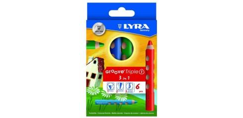 Lyra Groove Triple 1 Col.Pcl-6/Box
