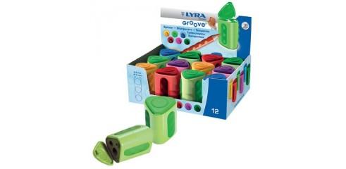 Lyra Groove Spitzer Twin Hole Sharpener