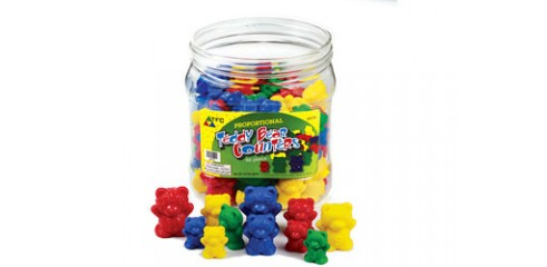 Bear Counters-96 Pcs In A Container