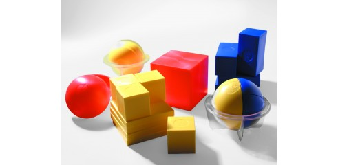 Fraction Cubes & Spheres