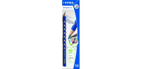Lyra Groove Slim Graphite(Hb)12pcs/Box
