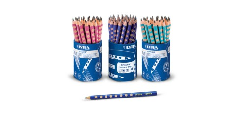 Lyra Groove Graphite Pencils(B)-36pcs In A Cup