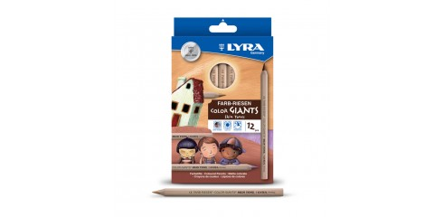 Lyra Giants Skin Tones-12pcs/Box