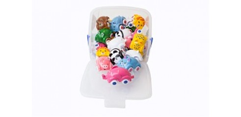 Cute Cars-Bucket set 25pcs