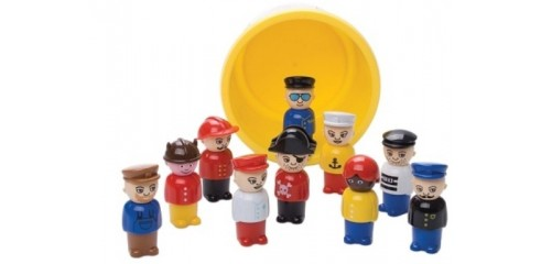 Figure Set in Mini Bucket